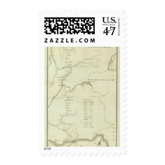 Bonaparte's Route from Elba to Paris Postage