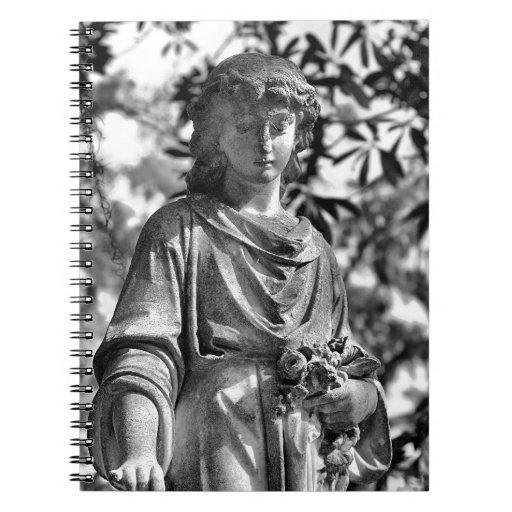 Bonaventure Cemetery Savannah, GA Spiral Notebook
