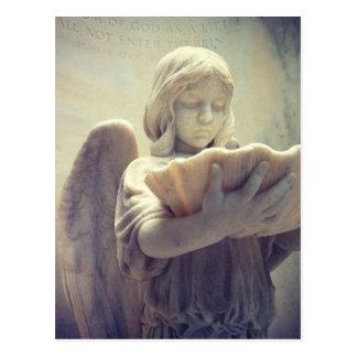 Bonaventure Girl with Shell Postcard