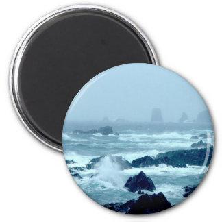 Bonavista Storm 2 Inch Round Magnet