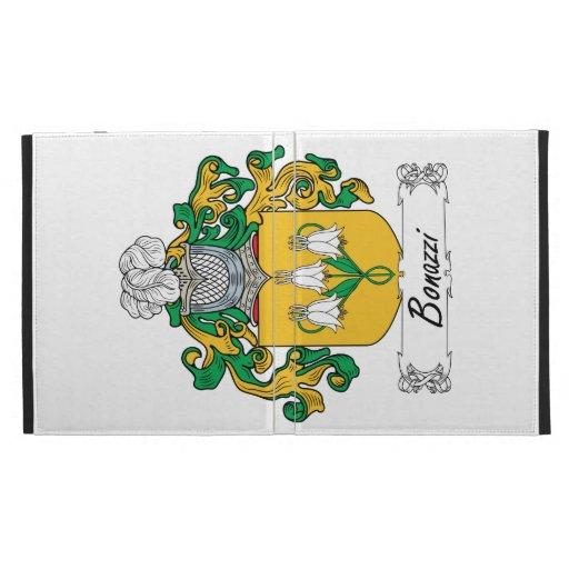 Bonazzi Family Crest iPad Folio Cases