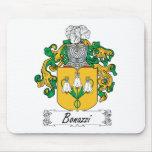 Bonazzi Family Crest Mouse Pad