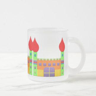 Bonbon Fantasy Magic Castell Frosted Glass Coffee Mug
