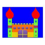 Bonbon Fantasy Magic Castell Postcard