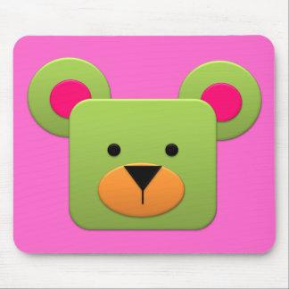 BonBon Fantasy Rainbow GreenTeddy Mouse Pad