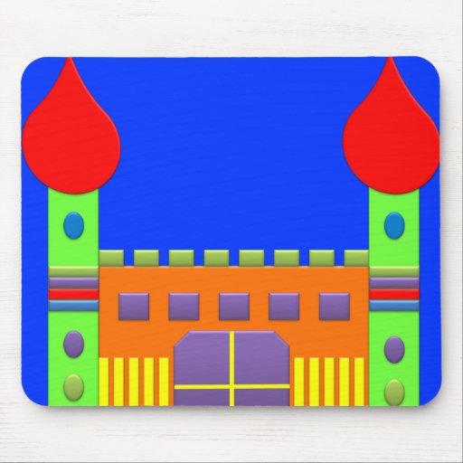 BonBon Fantasy Rainbow Magic Castel Mouse Pad