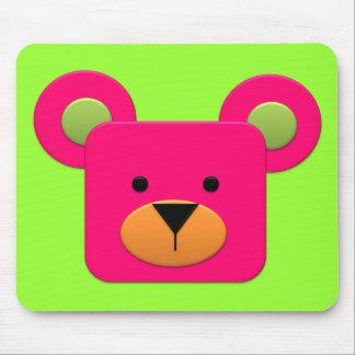 BonBon Fantasy Rainbow Pinky Teddy Mouse Pad