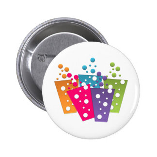 BonBon Party Funky Groove Party Drinks Pin