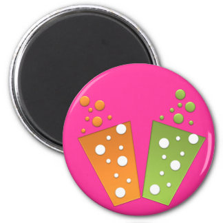 BonBon Party Funky Groove Party Drinks Magnet