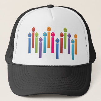 BonBon Party Happy Birthday colorful candels Trucker Hat