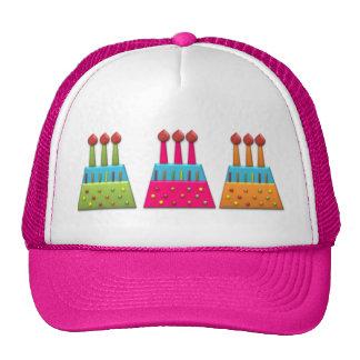 BonBon Party Rainbow Birthday Cake Colorful Trucker Hat