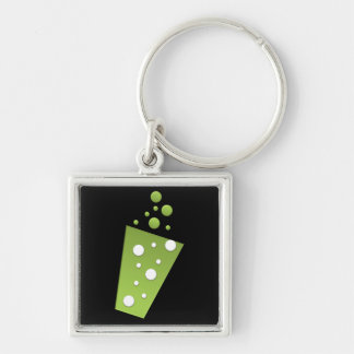 BonBon Party Rainbow Groove Pop Drink Keychain