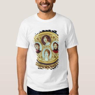 Bonbonniere with portraits of Eugene  Hortense T-Shirt