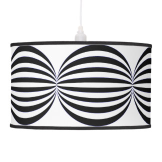 bonbons black light shade hanging lamp