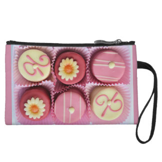 Bonbons / Chocolates - Pink Wristlet