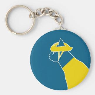 bonchat (yellow jacket) keychain