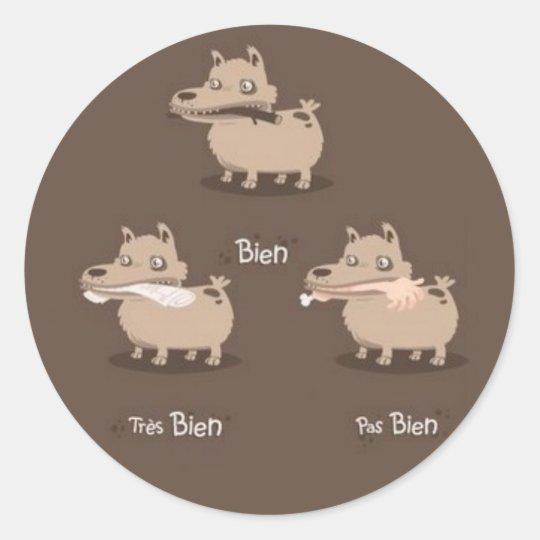 BonChien Classic Round Sticker
