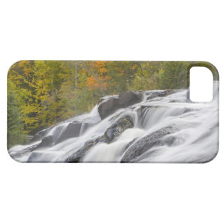 Bond Falls on the Middle Fork of the Ontonagon iPhone 5 Cases
