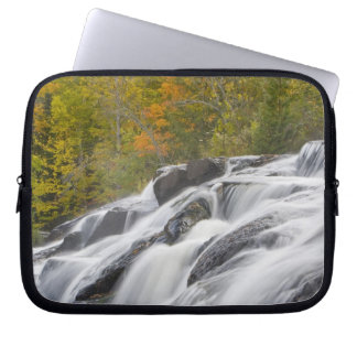 Bond Falls on the Middle Fork of the Ontonagon Laptop Computer Sleeves