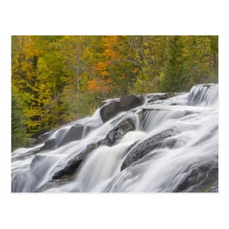 Bond Falls on the Middle Fork of the Ontonagon Postcard