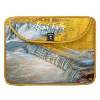 Bond Falls Reflecting Fall Colors Sleeve For MacBook Pro
