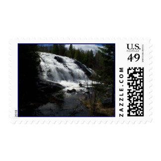 Bond Falls Spring Thaw Waterfalls UP MI Stamps