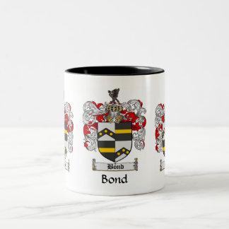 Bond Family Crest Mug
