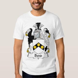 Bond Family Crest T Shirt