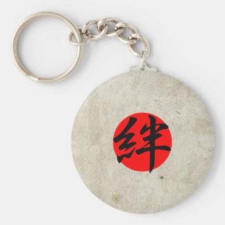 Bond - Kizuna Basic Round Button Keychain