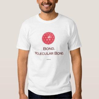 Bond. Molecular Bond. Tee Shirts