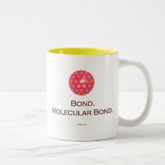Bond. Molecular Bond. Two-Tone Coffee Mug