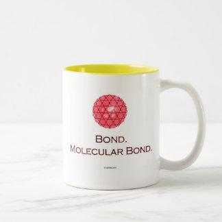Bond. Molecular Bond. Two-Tone Coffee Mug