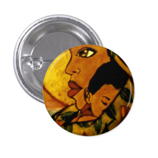 Bond of Mother and Son Pinback Button