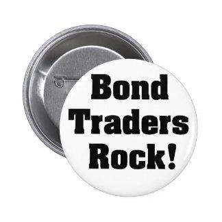 Bond Traders Rock! 2 Inch Round Button