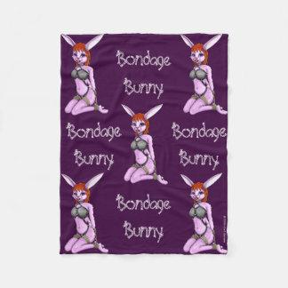 Bondage Bunny Fleece Blanket