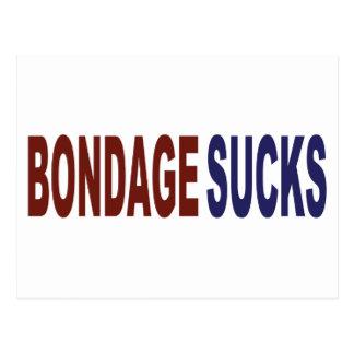 Bondage Sucks Postcard