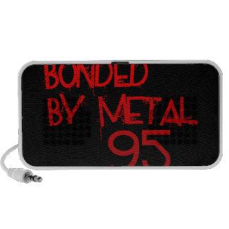 Bonded By Metal 95 Speakers (Black)