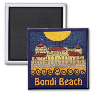 Bondi Beach 2 Inch Square Magnet