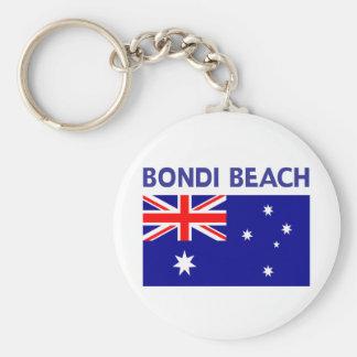 BONDI BEACH Australia T shirts and Products Keychain