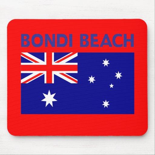 BONDI BEACH Australia T shirts and Products Mouse Pad