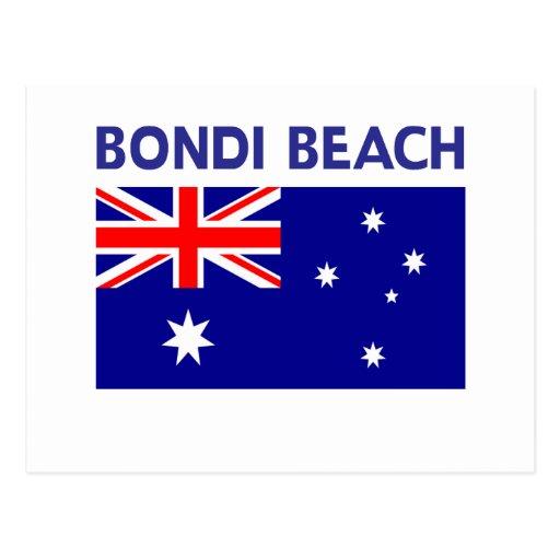 BONDI BEACH Australia T shirts and Products Postcard