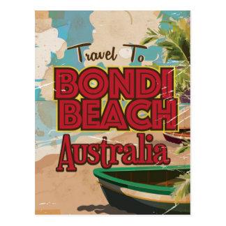 Bondi Beach Australia Vintage vacation Poster Postcard