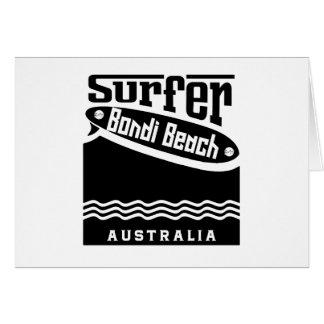 Bondi Beach Card