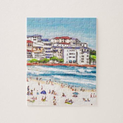 Bondi Beach Living Jigsaw Puzzle