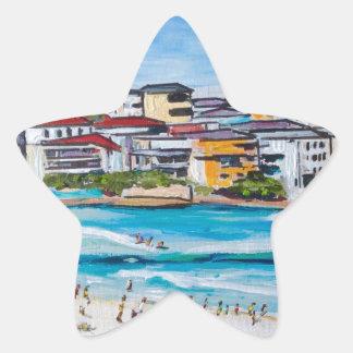 Bondi Beach North Corner Star Sticker