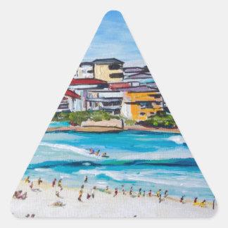 Bondi Beach North Corner Triangle Sticker