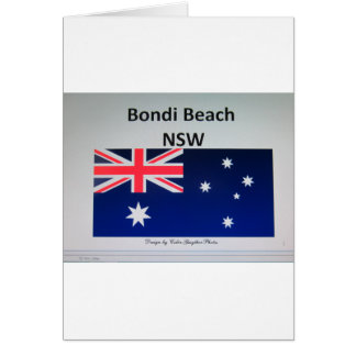 Bondi Beach , NSW Card