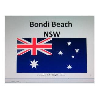 Bondi Beach , NSW Postcard