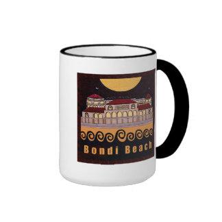 Bondi Beach Pavilion Black Mug