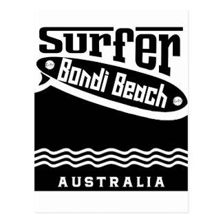 Bondi Beach Postcard